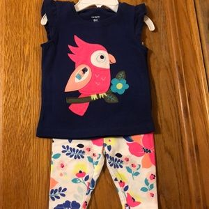 Carter's baby girl summer outfit